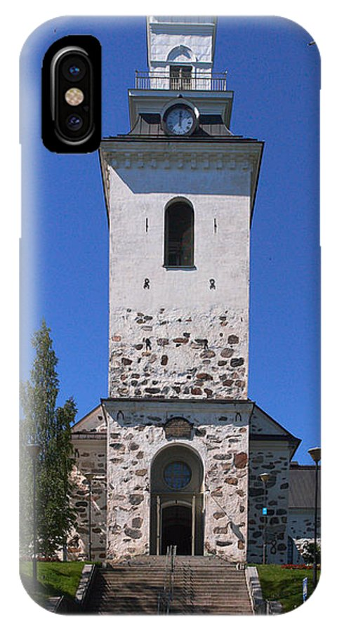 2012 IPhone X Case featuring the photograph The Church Of Kuopio by Jouko Lehto