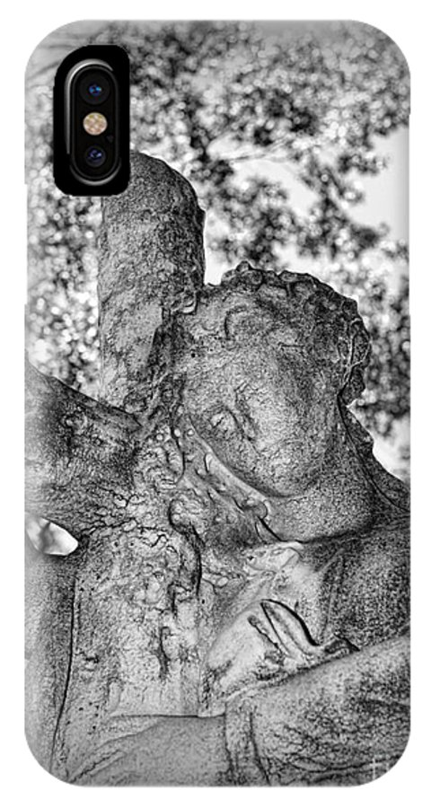 The Cross I Bear IPhone X Case featuring the photograph The Cross I Bear by Paul Ward
