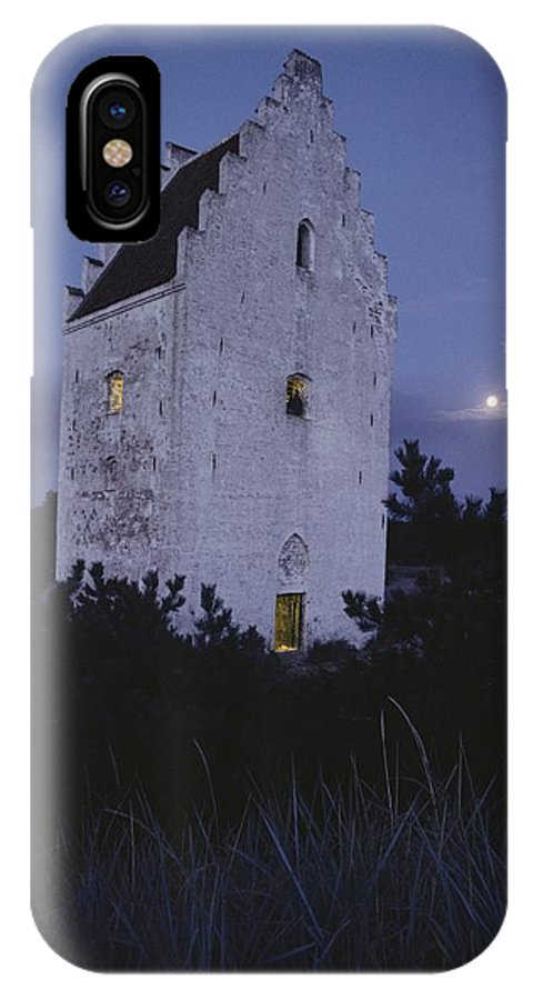 Europe IPhone X Case featuring the photograph The Famed Sunken Church Is Featured by Sisse Brimberg