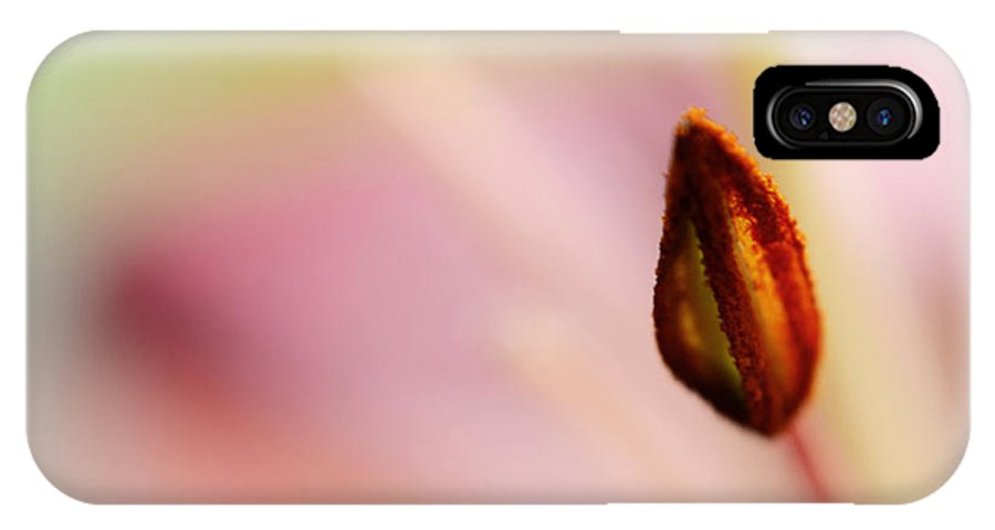 Flower IPhone X Case featuring the photograph The First Step by Melanie Moraga