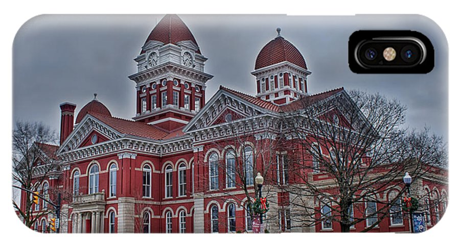 Lake County IPhone X Case featuring the photograph The Grand Old Lady by Scott Wood