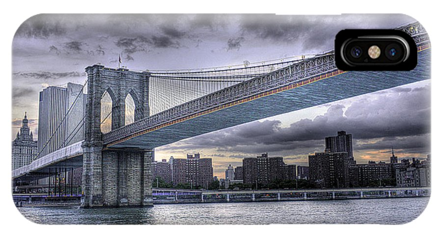 The Great Bridge IPhone X Case featuring the photograph The Great Bridge by William Fields