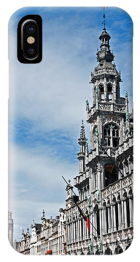 Municipality IPhone X Case featuring the photograph The King's House by Jim Chamberlain