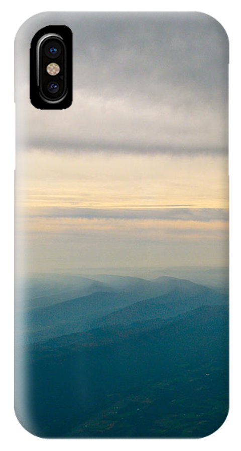 The Natural Movement IPhone X Case featuring the photograph The Natural Movement by Debra   Vatalaro
