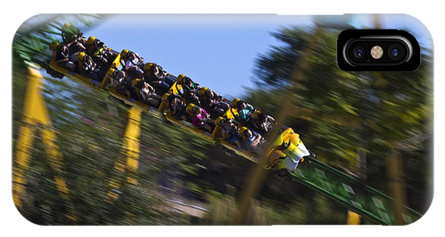 Busch IPhone X Case featuring the photograph The Need For Speed by Nicholas Evans