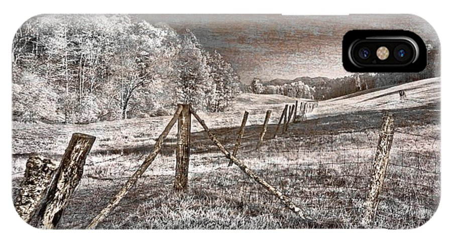 Appalachia IPhone X Case featuring the photograph The Old Farm by Debra and Dave Vanderlaan