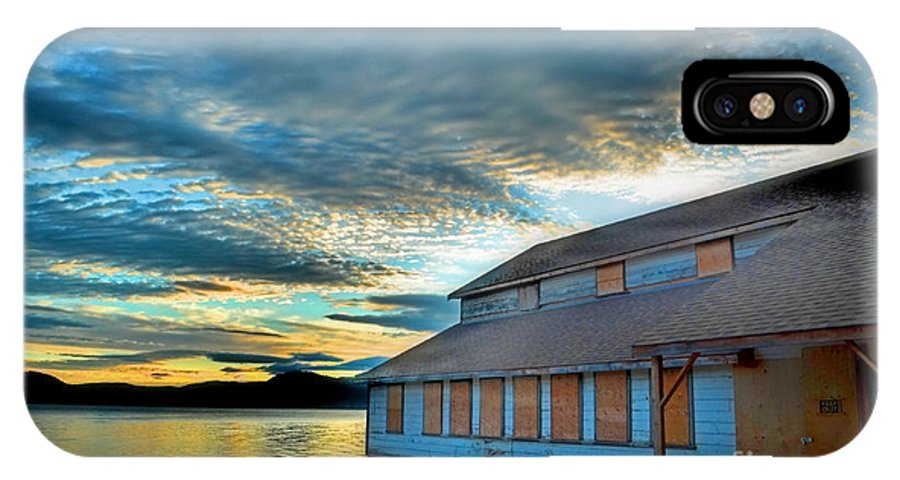 Packing IPhone X Case featuring the photograph The Old Packing House by Tara Turner