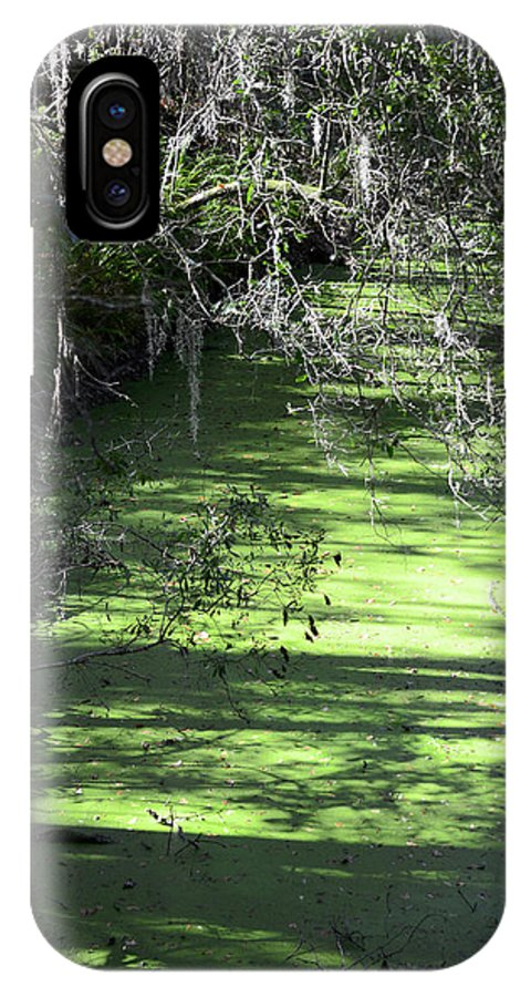 Alafia River IPhone X Case featuring the photograph The River by Carolyn Marshall