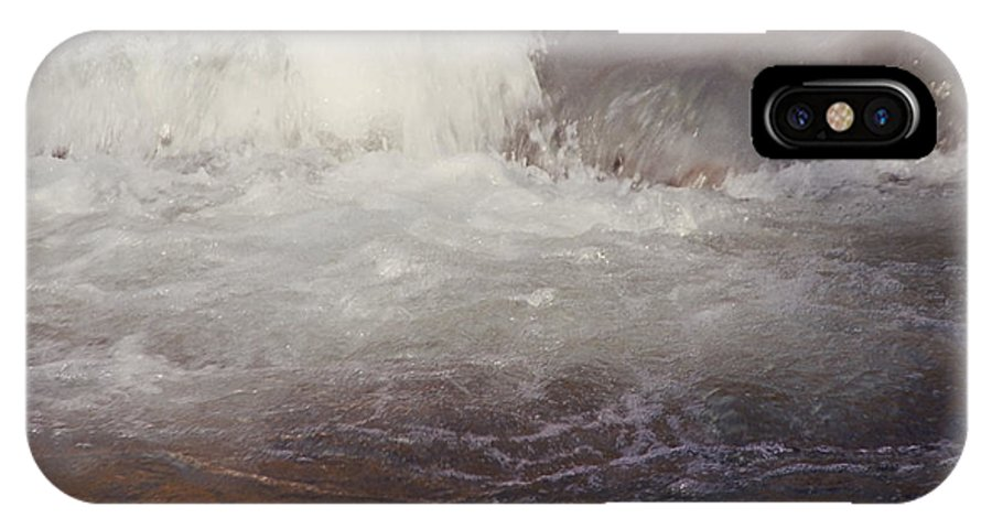 Water IPhone X Case featuring the photograph The River by Patrick Kessler