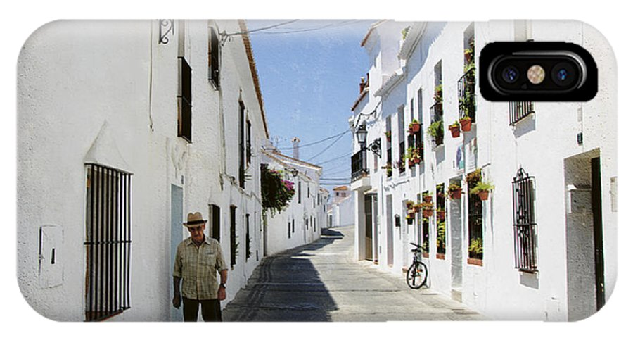 Spain IPhone X Case featuring the photograph The Spanish Village Mijas by Perry Van Munster