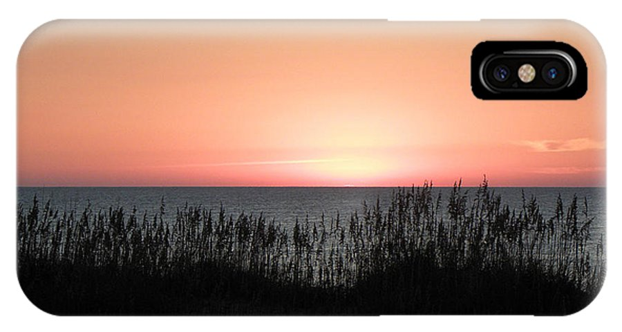Sunrise IPhone X Case featuring the photograph The Start Of A Beautiful Rise by Kim Galluzzo Wozniak