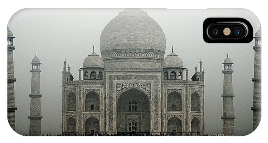 Architecture IPhone X Case featuring the photograph The Taj Mahal by Pravine Chester