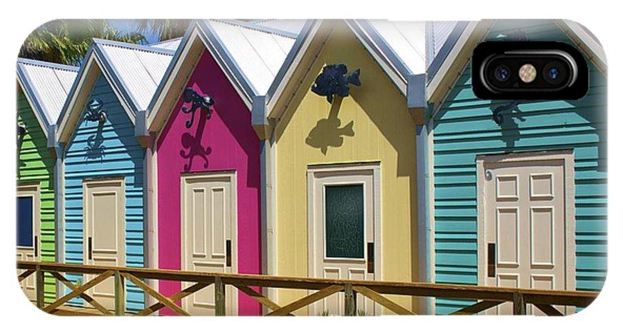 Blue IPhone X Case featuring the photograph The Villages Florida by Jennifer Lamanca Kaufman