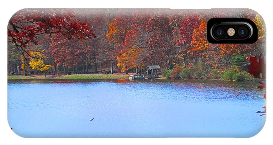 Sherando IPhone X Case featuring the photograph The Watershed by Lynn Bauer
