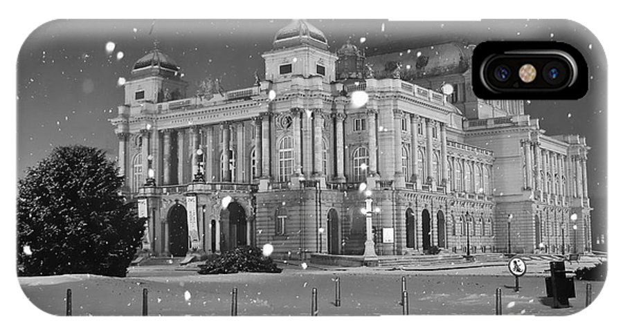 Actors IPhone X Case featuring the photograph Theatre In Croatia by Nino Rasic