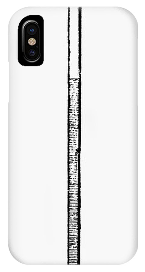 1643 IPhone X Case featuring the photograph Thermometer, 1643 by Granger