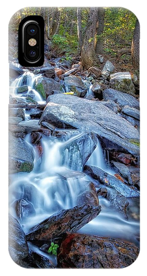 Waterfall IPhone X Case featuring the photograph Tons Of Falls by Mitch Johanson