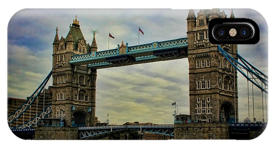 Tower Bridge IPhone X Case featuring the photograph Tower Bridge London by Heather Applegate