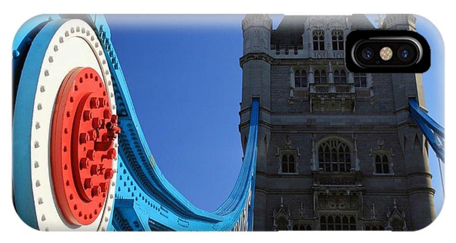 Tower Bridge IPhone X Case featuring the photograph Tower Bridge by Sophie Vigneault