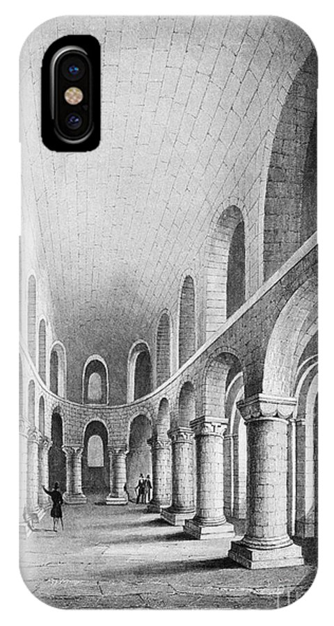 1080 IPhone X Case featuring the photograph Tower Of London: Chapel by Granger