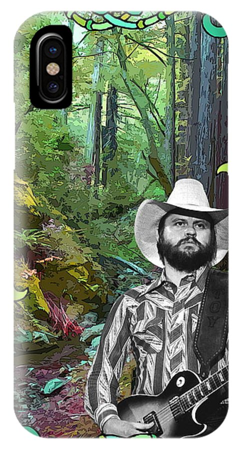Toy Caldwell IPhone X Case featuring the photograph Toy In The Woods 3 by Ben Upham