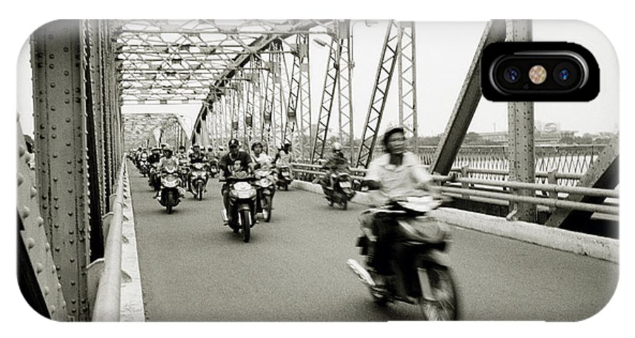 Asia IPhone X Case featuring the photograph Trang Tien Bridge by Shaun Higson