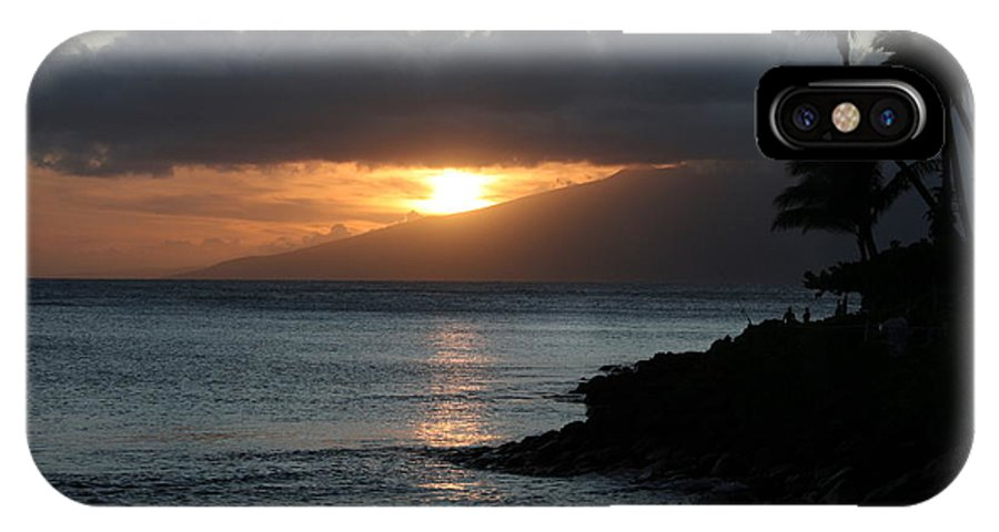 Sunset IPhone X Case featuring the photograph Tranquility At Its Best by Patricia Haynes