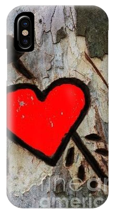 Tree Art IPhone X Case featuring the photograph Tree Lover by Kim Henderson