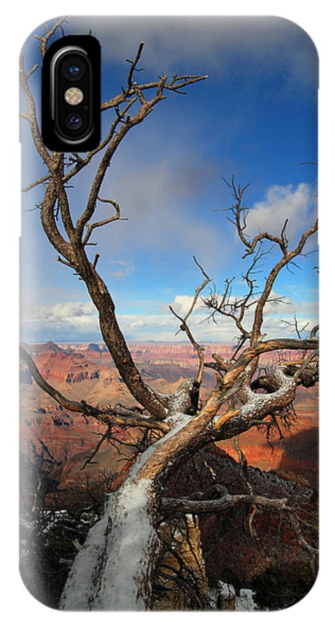 Grand Canyon IPhone X Case featuring the photograph Twist And Turns by Greg Wyatt