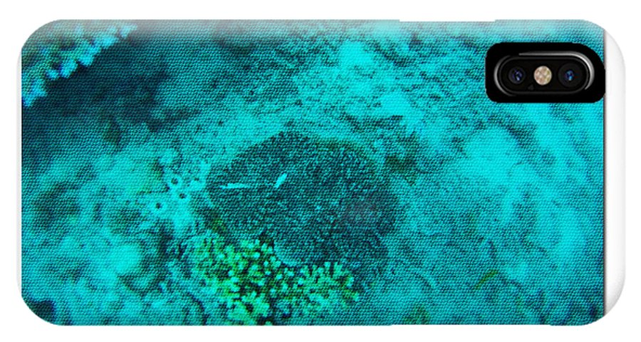 Under The Sea IPhone X / XS Case featuring the photograph Under The Sea B by Debra   Vatalaro