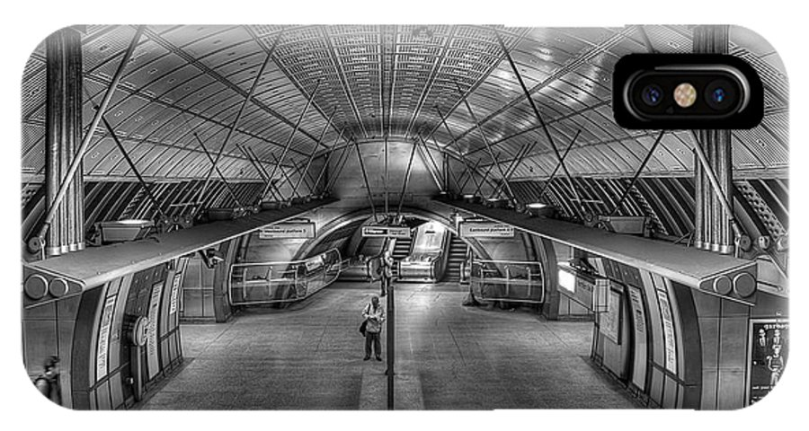 Architecture IPhone X Case featuring the photograph Underground 09 by Svetlana Sewell