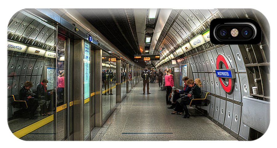 Architecture IPhone X Case featuring the photograph Underground Life by Svetlana Sewell