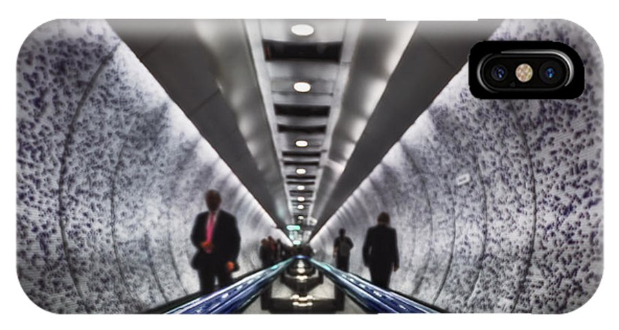 Aisle IPhone X Case featuring the photograph Underground Network by Evelina Kremsdorf