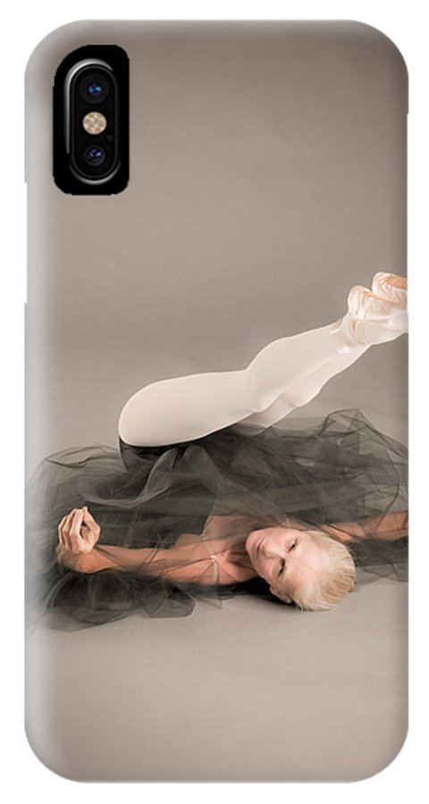 Art IPhone X Case featuring the photograph Up Side Down by Nancy Taylor
