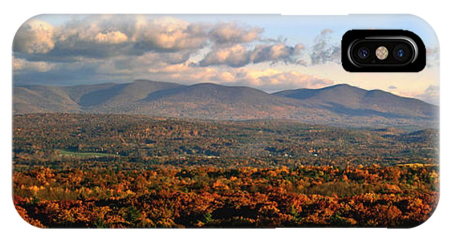 Mountains IPhone X Case featuring the photograph Upstate Ny Panorama by Terry Cork