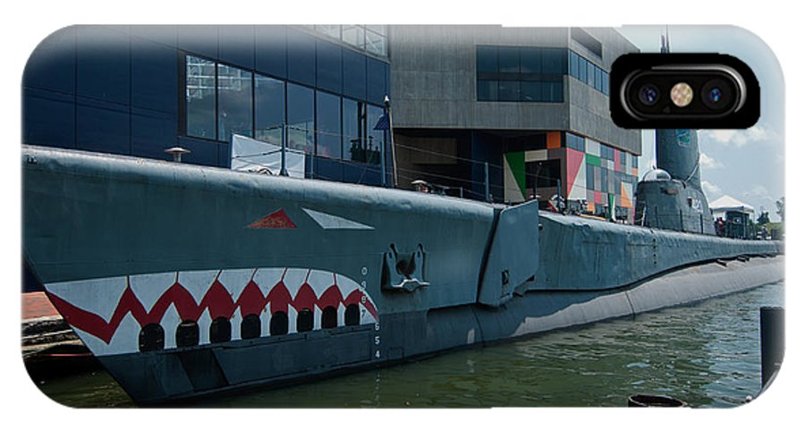 uss Torsk IPhone X Case featuring the photograph Uss Torsk by Paul Mangold