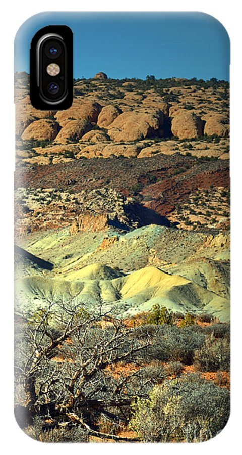 Arches National Park IPhone X Case featuring the photograph Varying Landscape by Tara Turner