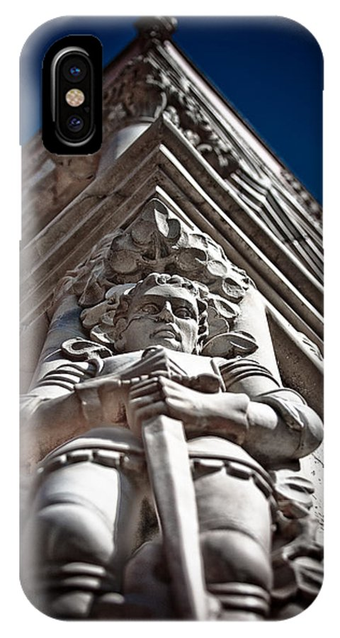 Ducal Palace IPhone X Case featuring the photograph Venetian Knight by Guy Hoffman