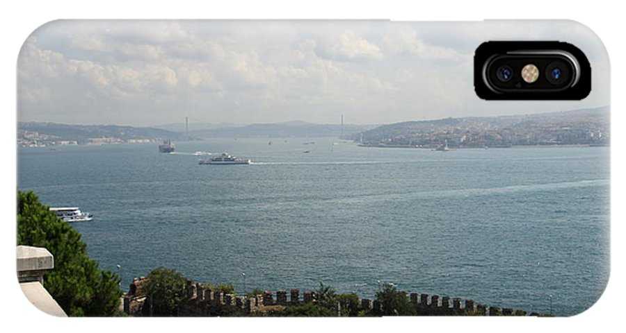 Istanbul IPhone X Case featuring the photograph View Of The Marmara Sea - Istanbul by Christiane Schulze Art And Photography