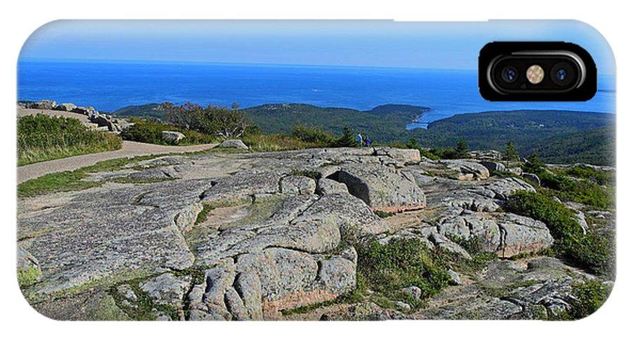 Acadia National Park IPhone X / XS Case featuring the photograph Vista by Lynda Lehmann