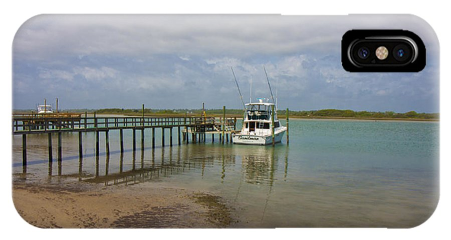 Topsail IPhone X Case featuring the photograph Waiting On The Captain by Betsy Knapp