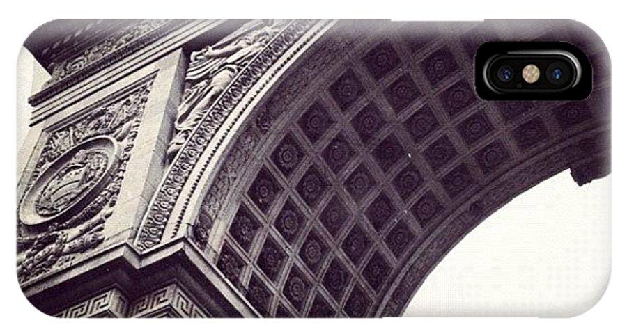 Summer IPhone X Case featuring the photograph Washington Square Park by Randy Lemoine