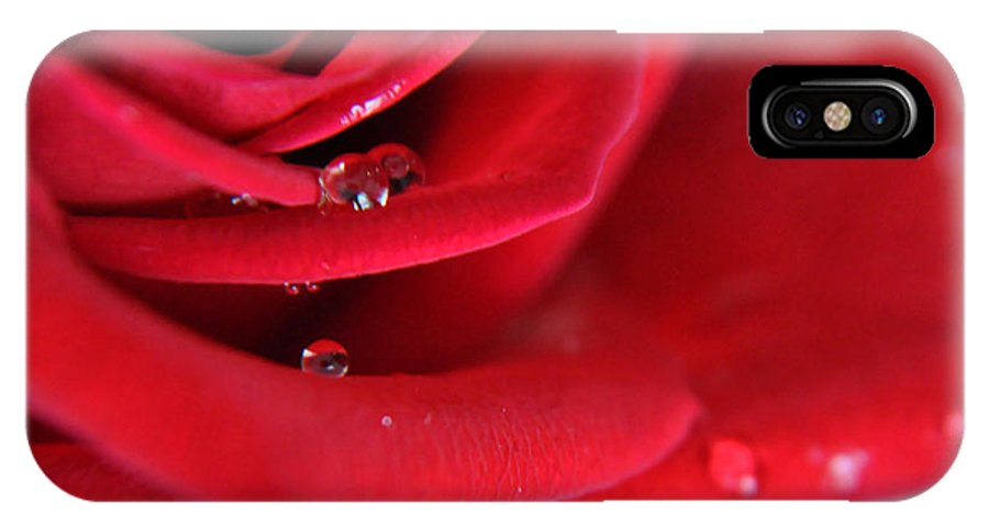 Teresa Blanton IPhone X Case featuring the photograph When Your Heart Cries by Teresa Blanton