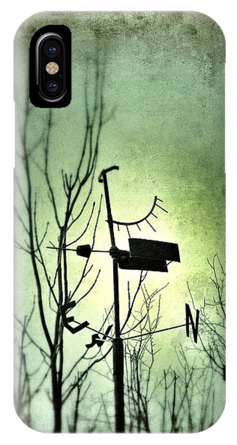Wind IPhone X Case featuring the photograph Where The Wind Takes Me... by Marianna Mills