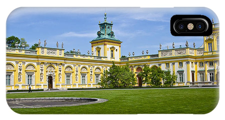 Wilanow Palace IPhone X Case featuring the photograph Wilanow Palace - Warsaw by Jon Berghoff