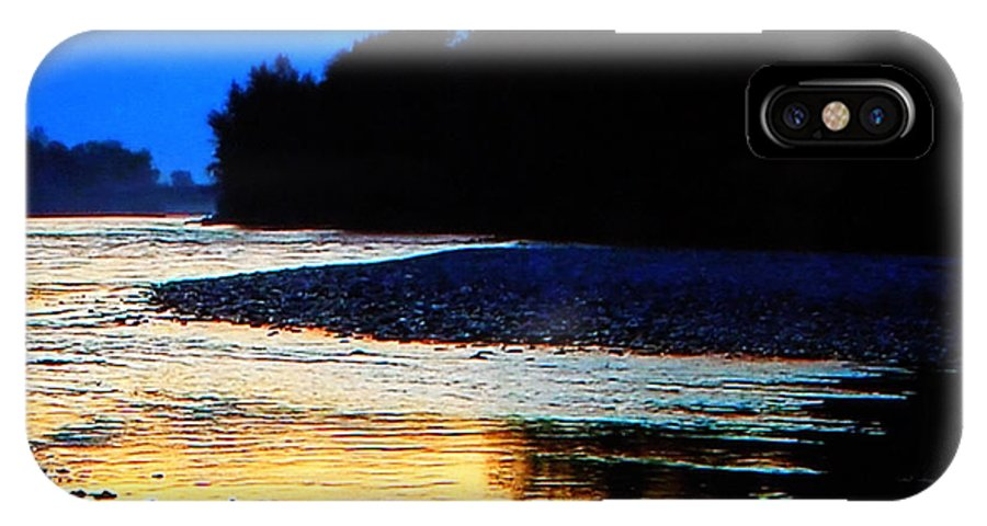 Colette IPhone X Case featuring the photograph Wild Mountain Nature by Colette V Hera Guggenheim