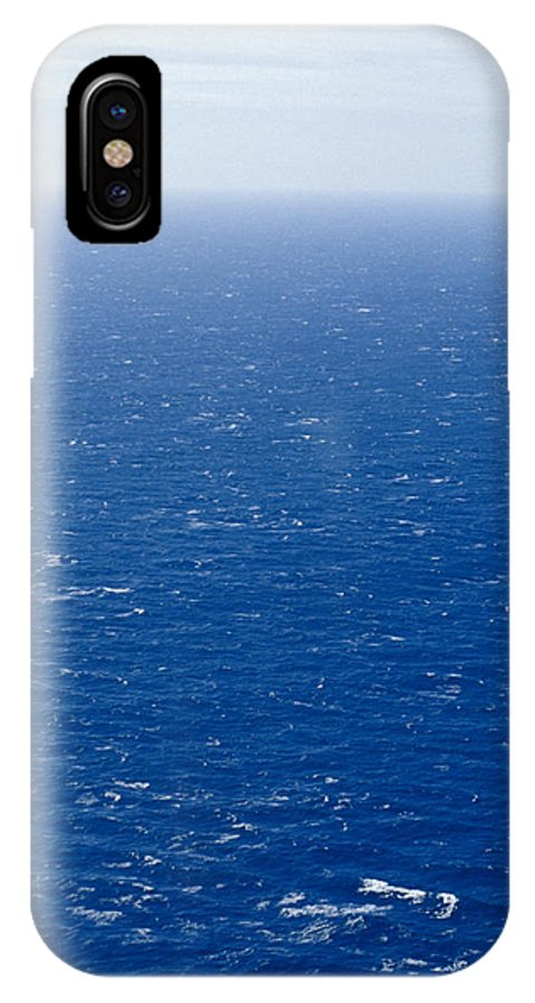 White-capped Waves IPhone X Case featuring the photograph Wind Creates White-capped Waves by Jason Edwards