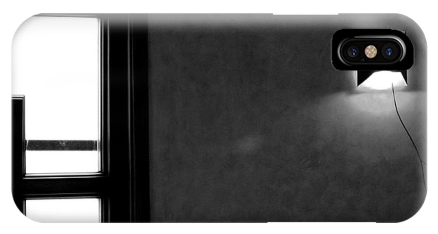 Window IPhone X Case featuring the photograph Window by Dattaram Gawade