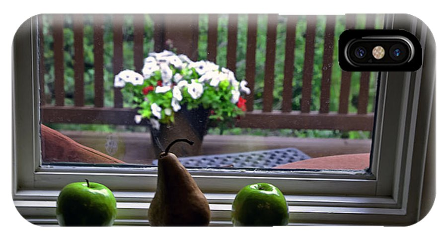 Still Life IPhone X Case featuring the photograph Window Sill 4 by Madeline Ellis