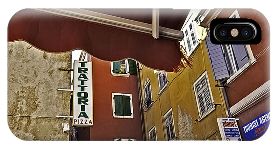 Venice IPhone X Case featuring the photograph Windows In Venice by Madeline Ellis
